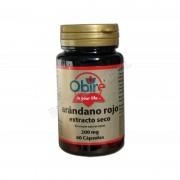 Productos OBIRE Arándano rojo (extracto seco) con vit. c - 60 cápsulas - obire - complementos alimenticios