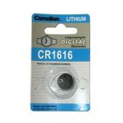 CR1616 BATTERIE AL LITIO 3 VOLT A BOTTONE IEC TYP CR1616, DL1616