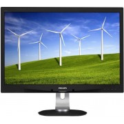 "Monitor PLS LED Philips 24"" 240B4QPYEB/00, Full HD, DVI-D, DisplayPort 1.2, 5ms GTG, Boxe (Negru)"