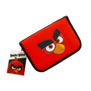 Penar neechipat 1 fermoar 2 extensii Pigna Angry Birds rosu-negru ABPE1801-2