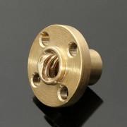 Brass Flange Nut voor Z As 3D Printer