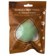 Eponge Konjac à l'Argile verte
