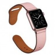 Apple Lederen Apple Watch bandje 42mm / 44mm - Roze