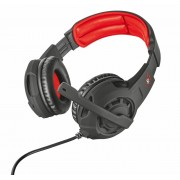 HEADPHONES, TRUST GXT 310, Gaming, Microphone, Black (21187)