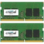 Crucial CT2K8G4SFS824A 16GB DDR4 SODIMM 2400MHz (2 x 8 GB)
