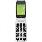 doro 2414 Senior preklopni telefon SOS ključ Čelik