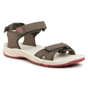 Сандали JACK WOLFSKIN - Lakewood Cruise Sandal W 4019032 Coconut Brown/Auburn