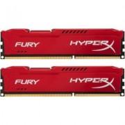 HyperX Kingston Moduł pamięci HyperX/16G 1866MhDDR3CL10DIM Kx2 FuryRed