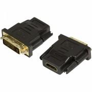 Adaptor 1080P HDTV Hdmi mama la DVI tata 24+1 pini, negru