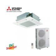 Caseta Mitsubishi Electric 42000 BTU inverter PLA-RP125BA + PUHZ-ZRP125YKA