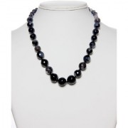 The Haat Onyx Stone Necklace (Black)