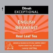 Dilmah Exceptional English Breakfast fekete tea 50 filter/doboz