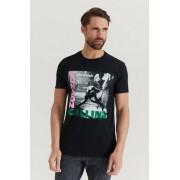 Rock Off T-Shirt The Clash Tee Svart