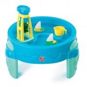 Step2 Table à eau avec roue à aubes Bleu