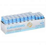 Duracell 36x Grundig AA en AAA batterijen alkaline