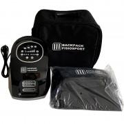 Presoterapia Backpack Fisiosport de cuatro cámaras con funda para piernas + bolsa de transporte de regalo