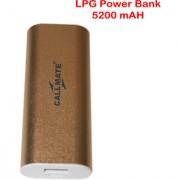 Callmate Power Bank LPG 5200 Mah - Gold