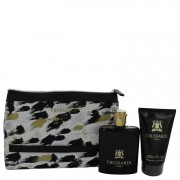Trussardi EDT Spray 3.4 oz / 100.55 mL + Shower Gel 3.4 oz / 100.55 mL + Trusssardi Pouch Gift Set Men's Fragrance 541490
