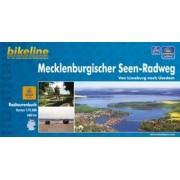 Fietsgids Bikeline Mecklenburgischer Seen radweg   Esterbauer