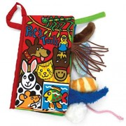 Culater%C2%AE Pet Culater Baby Animal Tails Cloth Book Toys Development Books Learning Educ