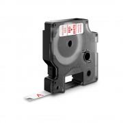 Etichete autocolante DYMO LabelManager D1 9mm x 7m rosu alb 40915 S0720700
