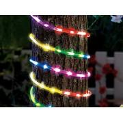 LED-Lichtschlauch für Innen- & Aussenbereich, 720 LED, 10 m, mehrfarbig | Lichtschlauch