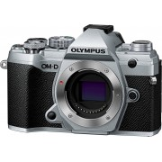 Olympus »OM-D E-M5 Mark III Body« Systemkamera (20,4 MP, Bluetooth, WLAN (Wi-Fi), silbern / schwarz