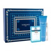 Versace Man Eau Fraiche подаръчен комплект EDT 100 ml + EDT 10 ml + душ гел 150 ml за мъже
