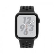 Apple Watch Series 4 Nike+ - boîtier en aluminium gris 44mm - bracelet sport anthracite/noir (GPS+Cellular)