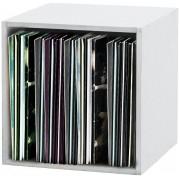 Glorious Record Storage Box 110 White