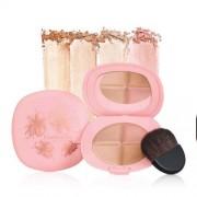 Elizabeth Arden Paletă Iluminatoare - oferă pielii un aspect natural sănătos (Fourever Glow Highlighting Palette) 15 g