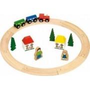 Jucarie educativa Big Jigs My First Train