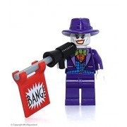Lego The Joker Minifigure, From Dc Comics Super Heroes Set 76013