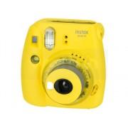 Fujifilm Kit Cámara Instantánea FUJIFILM Instax Mini 9 Clear (Amarillo - Obturación: 1/60 s - 2x Pilas AA - 62x46mm)