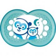 Chupeta MAM Night Silk Touch - Azul - 6+M - Mam