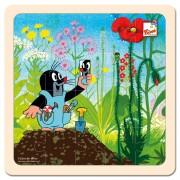 Kisvakond nadrágban- nagy fa puzzle 20 db-os