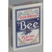 Bee Casino - Poker size Jumbo Index Blue