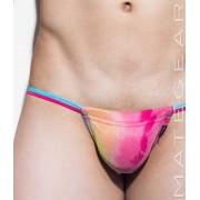 Mategear Hae Sang III Seamless Xpression Series Mini Bikini Swimwear Blue/Dark Pink 1370703