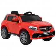 vidaXL Детска кола Mercedes Benz GLE63S пластмаса червена