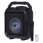 Zoook Rocker Thunder XL 50 W Bluetooth Party Speaker Black with wireless Mic