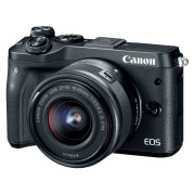 CANON Hybride camera EOS M6 + 15-45 mm (1724C012AA)