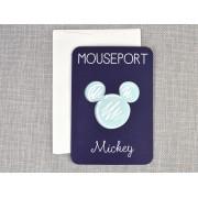 Invitatie botez pasaport Mickey cod 15705