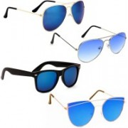Vitoria Aviator, Wayfarer, Cat-eye Sunglasses(Multicolor)
