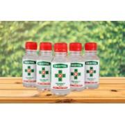 Antibakteriálna dezinfekcia na ruky s 99,9% účinkom proti vírusom 5x125ml - DEZITOL