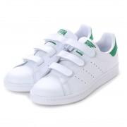 アディダス オリジナルス adidas Originals スタンスミス SUTAN SMITH CF J (ホワイト×グリーン) レディース