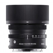 SIGMA 45mm F/2.8 DG DN Contemporary Sony E Preta
