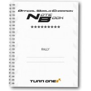 Co-Driver pace notebook