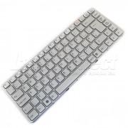 Tastatura Laptop Sony Vaio PCG-7171M alba cu rama + CADOU
