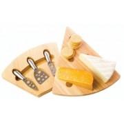 Bambusz háromszög sajtkészlet 3 részes