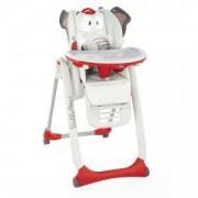 Детско столче за хранене Chicco Polly2Start 4 колела, Baby Elephant, 2522113